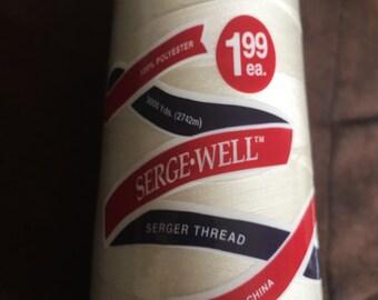 Serger Thread Cream 3000 yards