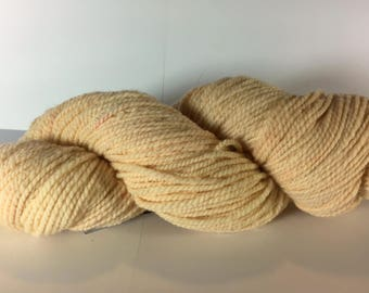 Fuzz, Worsted Weight Wool Yarn, Madder Root Natural Dye