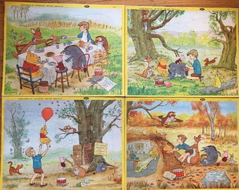 Vintage Winnie The Pooh Puzzles