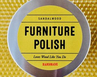 Beeswax & Sandalwood Polish