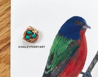 Robin's nest pendant