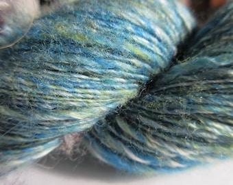 Elegant Casual - Beautiful Hand Spun Yarn - Merino and Tussah Silk - Single