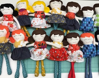 Little Ladies & Little Lads - Mini Rag Dolls