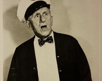 Original 1950 Jimmy Durante The Milkman 8x10 Black And White Photo Photograph Vintage Movie