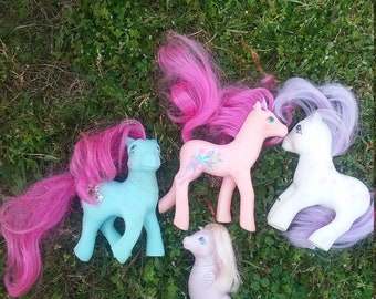Vintage my little pony set