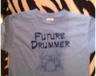 toddler drums shirt, Future Drummer shirt, Drummer t-shirt, Drummer toddler t shirt, kids drum clothes, boys drum shirt, girls drum shirt