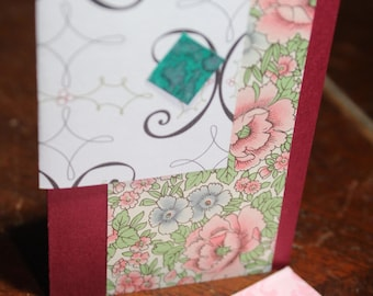 Gift Card Enclosure/Embellishment/Journaling Card