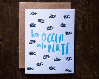 LOVE LETTERPRESS CARDS