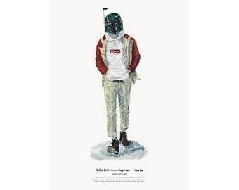 He Wears It 005 - Boba Fett wears Supreme and visvim