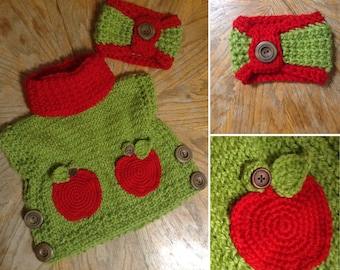 The Willow Pullover w/matching Headwarmer