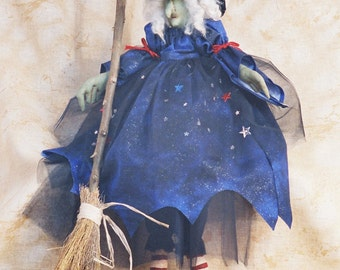 Ruby - Cloth Doll E-Pattern - 26in Halloween Witch epattern