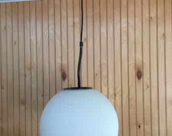 Mid century modern globe pendant light Made in Belgium