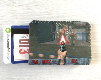 Oyster Card Holder - Business Card Case - Doom Game - Credit Card Holder - Business Card Holder - Oyster Card Case