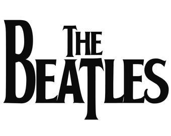 The Beatles Logo - Vinyl Decal Wall Art