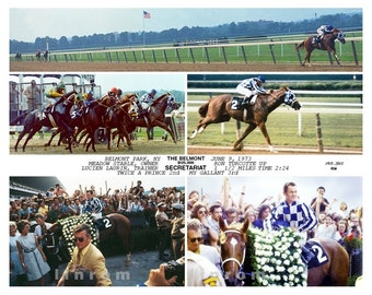 "Secretariat ""40th"" Anniversary Kentucky Derby and Triple Crown 1973"