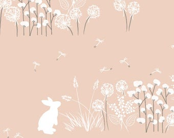 Baby Crib Bedding - Girls Changing Pad Covers / Floral Girls Crib Bedding / Blush Changing Pad Covers / Bunny Baby Bedding Set Mini Sheets