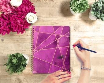 Spiral Notebook - Lined Journal, Writing Journal, Bullet Journal, Journal, Notebook, Lined Notebook, Lined-Blank Notebook-Dot Grid Notebook