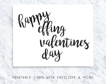 happy valentines day, valentines printable, black and white, printable valentines, printable card for him, card for girlfriend