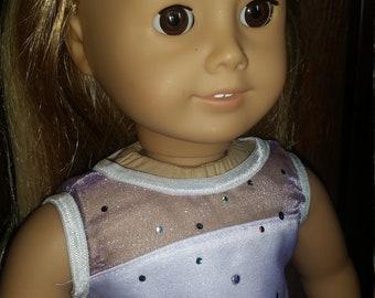 Sheer Top Spring Dress for American Girl Doll