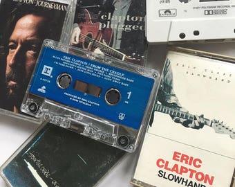 Eric Clapton Tape Set (Cassettes x 4)