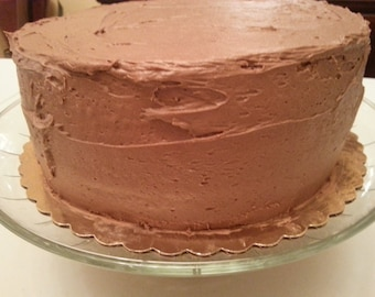 Chocolate Frosted Layer Cake