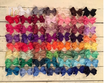 Mix & Match--6 inch, 4 inch, or 2.5 inch Girls Hair Bows, Baby Bows, Toddler Hair Bows, Boutique Bows, Big Bows