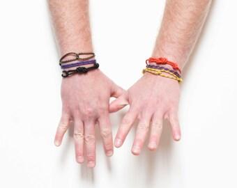 Simple Rope Bracelets