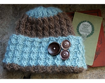 Baby Cable Switchback Hat Pattern ONLINE DOWNLOAD