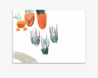 Unrecognisable Parts Of Our Garden 12, print on fine art paper