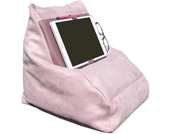 Comfortable ', cushion Tablet holder - pink