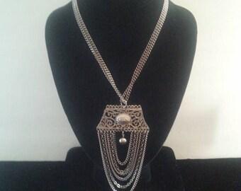 ON SALE Retro Statement Necklace ** Vintage 1960's Jewelry **