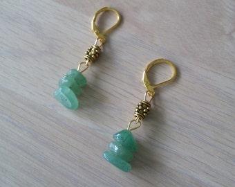 Golden Aventurine Earrings