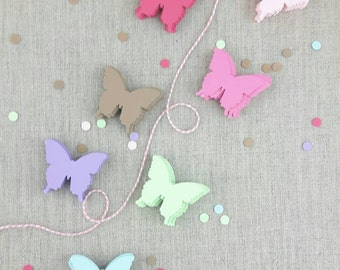 Butterfly Confetti , Paper Butterflies, Cardstock Cut Outs, Butterfly Punches, 25 pcs, Spring, Showers, Favors, Tags, Die Cuts, Nature