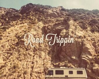 Road Trip Art, Road Trip Photo, California Dreaming, Travel Van, Wanderlust Art, Wanderlust Print, Road Trip Photography, Road Tripping
