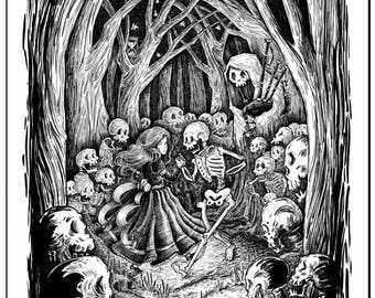Dance of the Dead Print