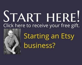 Start Here - FREE Etsy Tips, Sales Way Down, Views Way Down, Digital Download, Instant Download, Quit Your Day Job, Boost Sales on Etsy News