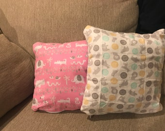 Fuzzy Baby Pillow
