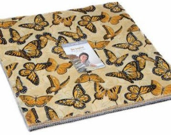 """Quilters Layer Cake, Bee Inspired Layer Cake, Moda Pre-cuts, 10"""" pre-cut fabric"""