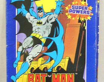 Bat Man Stain Painting Kit 1984 Fundimensions Unopened