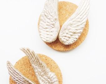 PUSH PINS Thumbtacks Pushpin Thumb Tack Angel Wings Decorative Champagne Gold Office Supplies Cubicle Decor Unique Gift Idea Cork Board Pins