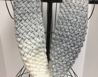 Infinity Scarf, Hand Crocheted Infinity Scarf For Women, Loop Scarf, Circle Scarf