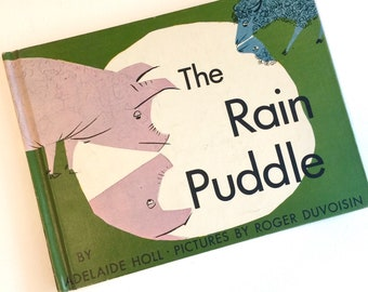 1965 The Rain Puddle by Adelaide Holl