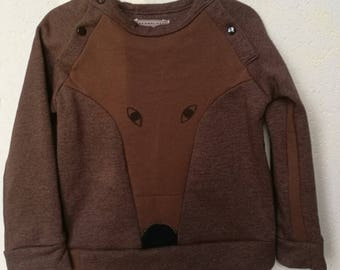 """Fox"" T 4 years Fleece Sweatshirt"