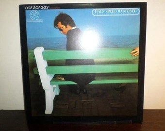Vintage 1981 Vinyl LP Record Silk Degrees Boz Scaggs Audiophile Half Speed Mastered Excellent Condition 8105