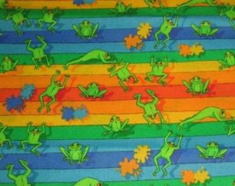 Froggy Cotton Piece