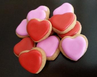 Mini Heart Cookies (4 dozen)