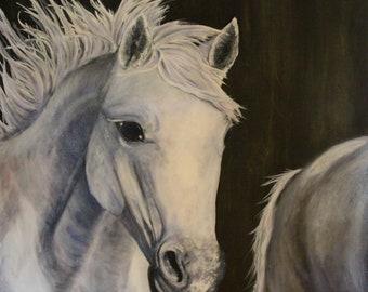 Running Free - Original Oil Painting