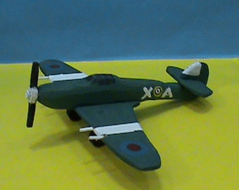 Hawker Hurricane Toy Airplane