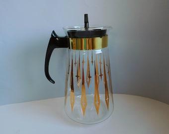 Vintage mid-century Pyrex carafe Glass coffee carafe
