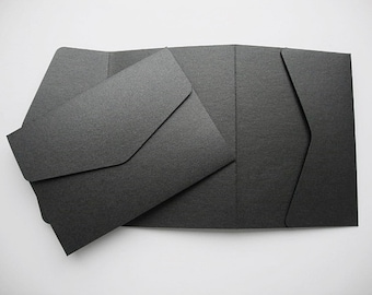 A6/C6 Pocketfold Wallets & Envelopes x  5